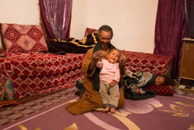 Masaminehom Family, Boujdour, Sahrawi Refugee Camp, Tinduf, Dec 2016