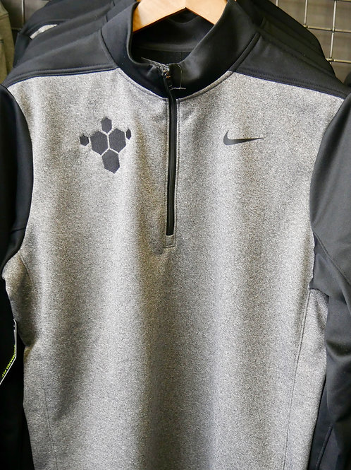 Uni-Sex Nike Lift Lab 1/4 Zip (Gray and Black)