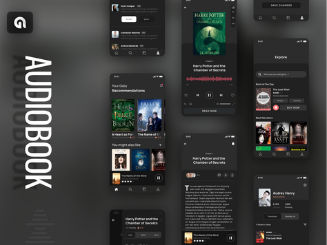 Audiobook- Mobile & Tablet