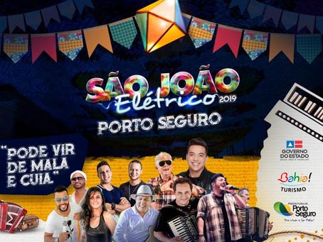 São João Elétrico de Porto Seguro