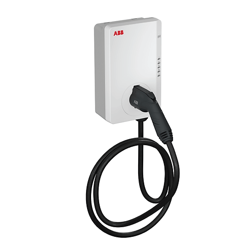 Terra Wallbox 7kW - Tethered RFID & 4G