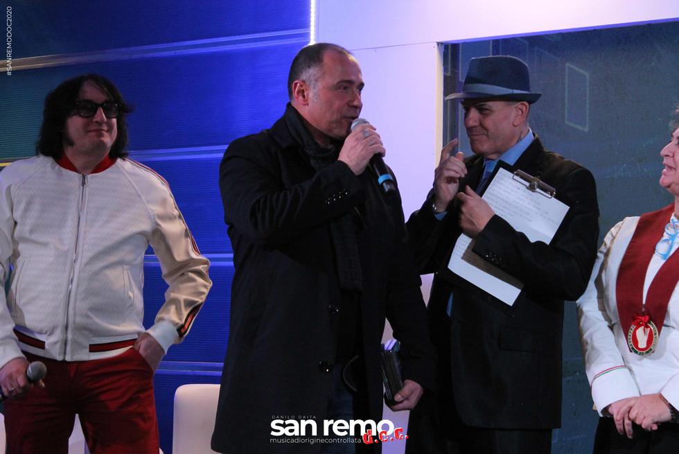 Michele Pecora, Danilo Daita e Jimmy Damasi a sanremodoc