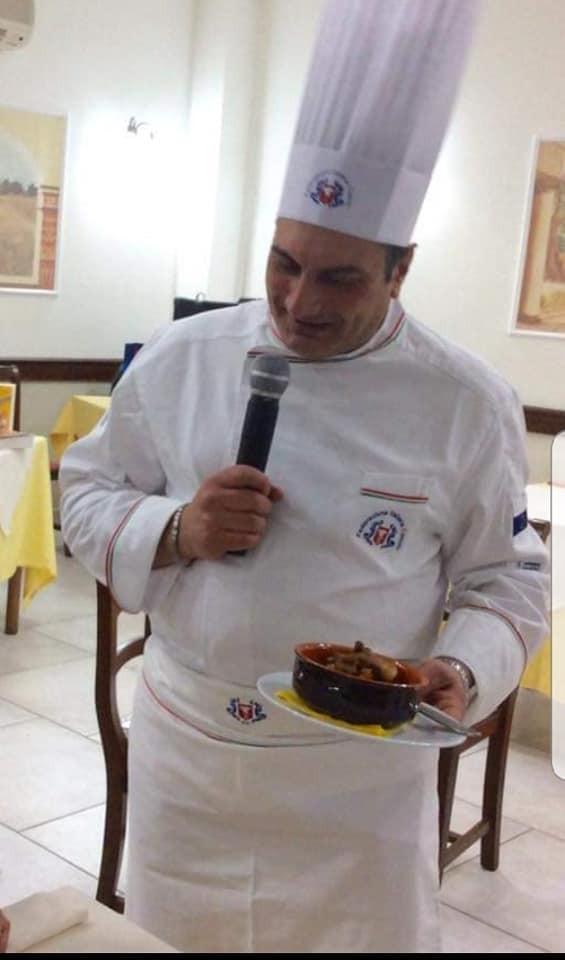 Adriano D'ovidio Chef SAN REMO D.O.C.