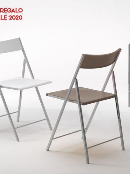 Pezzani First sedia pieghevole idea regalo da Sigla Arredamenti