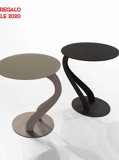 Pezzani tavolino Swan idea regalo da Sigla Arredamenti