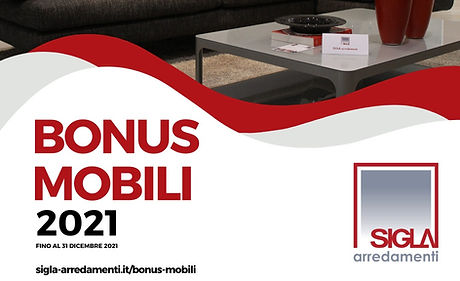 Bonus Mobili da Sigla Arredamenti Abruzzo