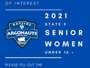 SENIOR WOMEN EXPRESSIONS OF INTEREST 2021