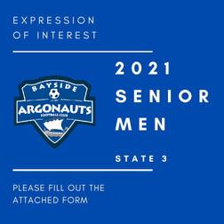 SENIOR MEN EXPRESSIONS OF INTEREST 2021