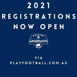 2021 REGISTRATIONS NOW OPEN