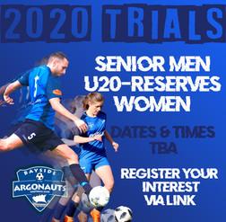 2020 TRIALS - SENIOR MEN & WOMEN