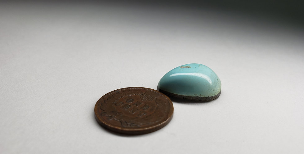 Natural Blue Moon Turquoise, Light Blue