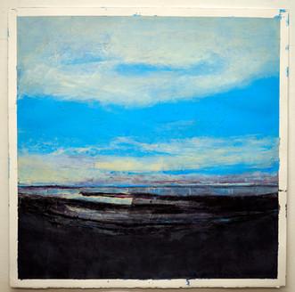 Inland Sea  80 x 81 cm