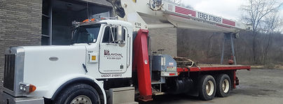Plavchak Construction Crane Boom Truck