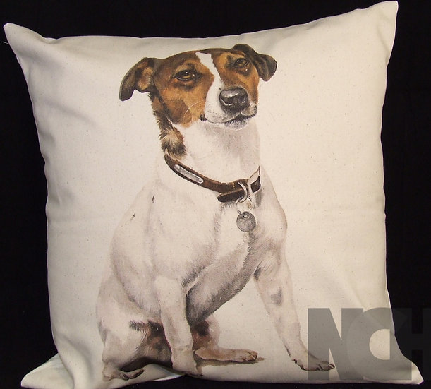Fox Terrier Scatter Cushion