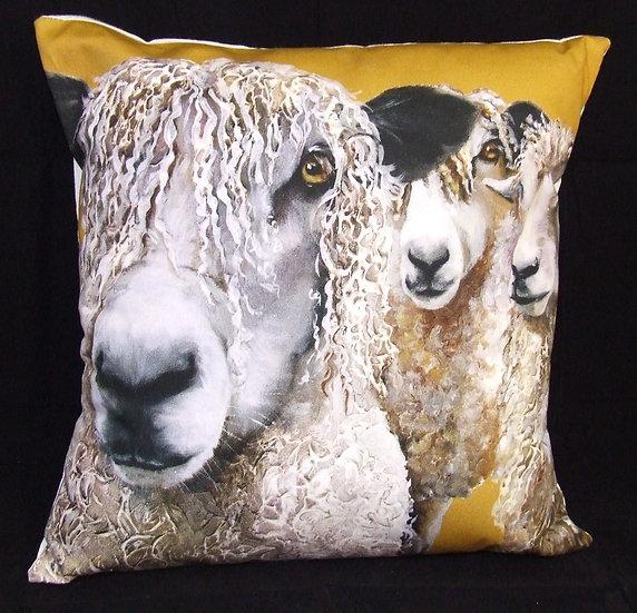Scraggy Sheep Cushion