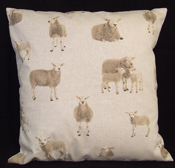 Small Sheep Motif Scatter Cushion