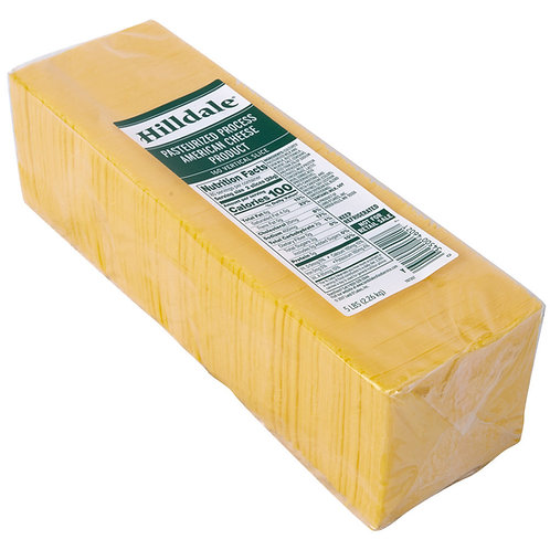 5 lb. Pack 160-Count Pre-Sliced Yellow American Cheese