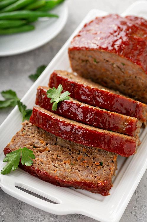 Meat Loaf Sliced