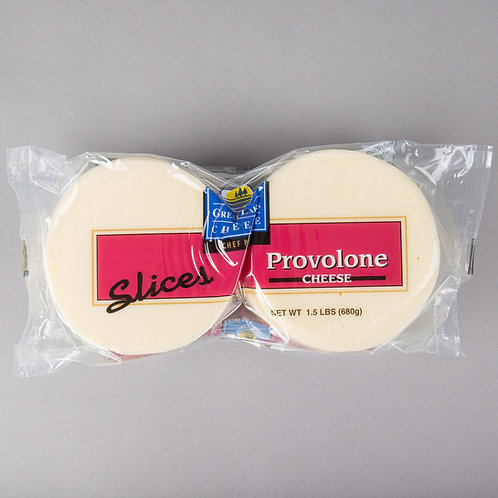1.5 lb. Provolone Cheese Slices