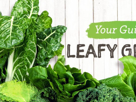 Your Guide to Leafy Greens: 18 Green Leafy Vegetables to Use More Often by Tori Schmitt, MS, RDN, LD