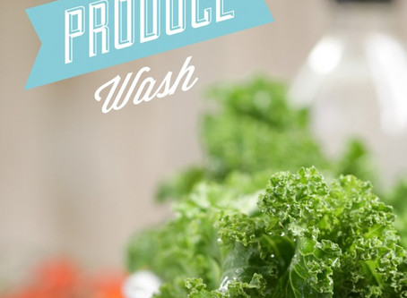 DIY NATURAL PRODUCE WASH by Kristin Marr