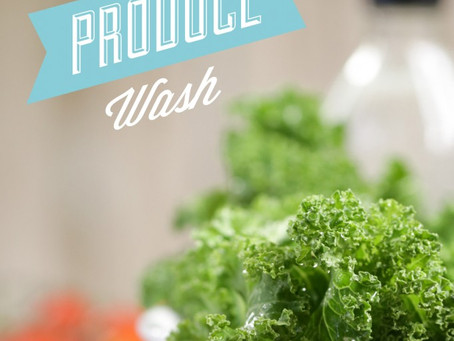 DIY NATURAL PRODUCE WASH by Kristin Marr