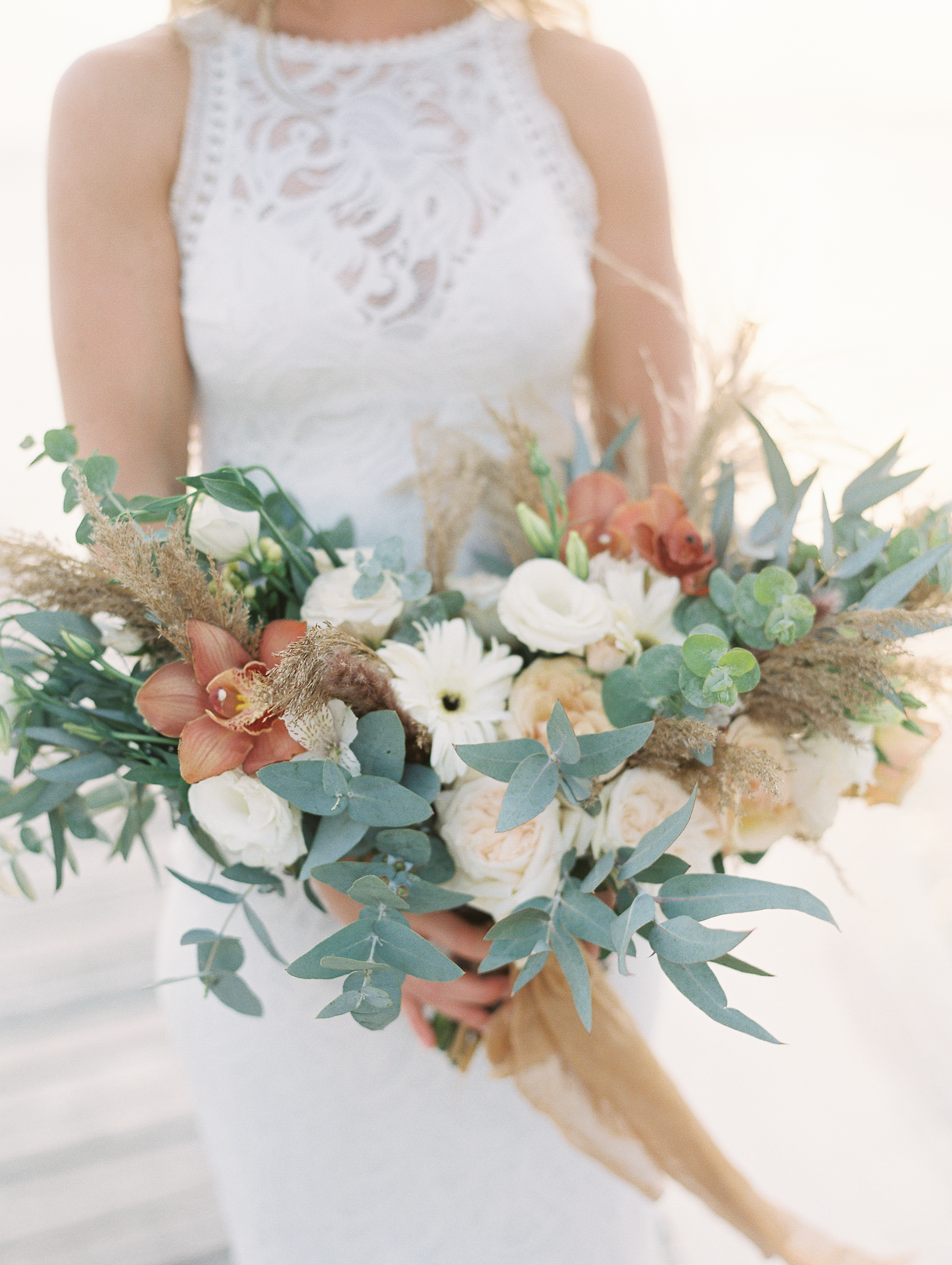 Pampas boho bouquet