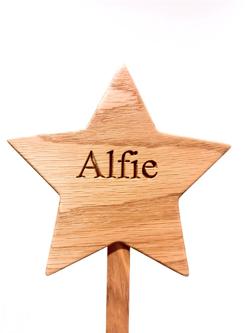 Personalised Star Baby Hanger