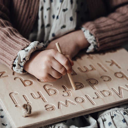 Personalised Alphabet board