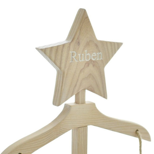 Stacey's Stand - The Maxi - Whitewash Personalised Star