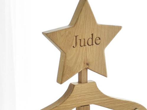 The Maxi - Natural Oak - Personalised Star