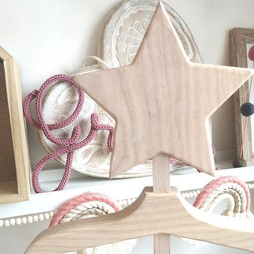 Whitewashed Original Star Baby Hanger