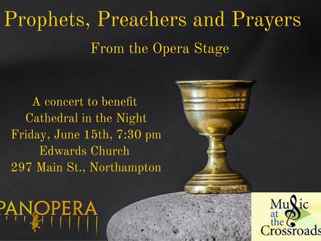 Panopera and Music at the Crossroads Presents Concert to Benefit Cathedral in the Night