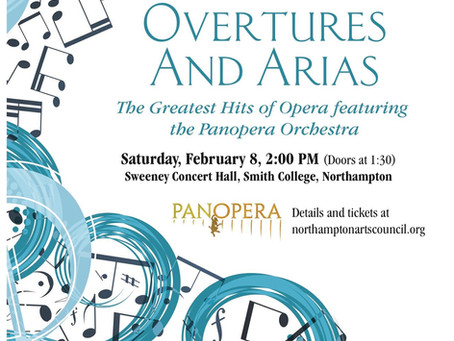 Overtures and Arias Comes to Smith College Next Week