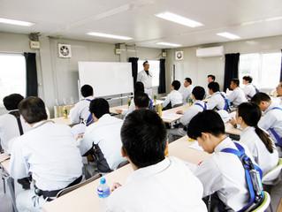 錦江研修センターで足場研修を行いました。