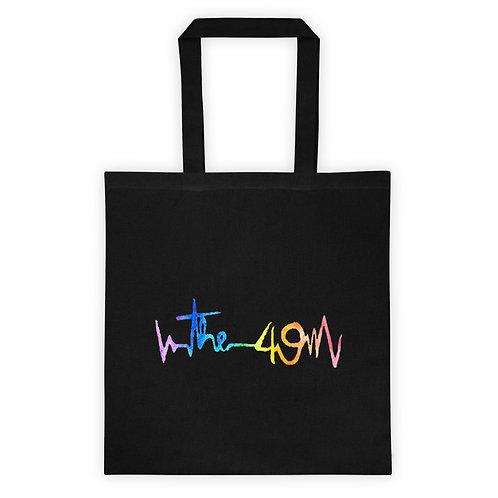 """The 49"" Black Tote bag"