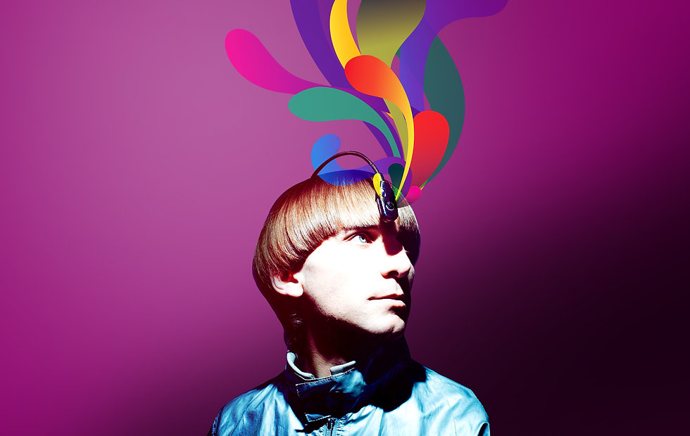 VODAFONE FIRSTS – NEIL HARBISSON FIRST COLOUR CONCERT creativity and event production Barcelona