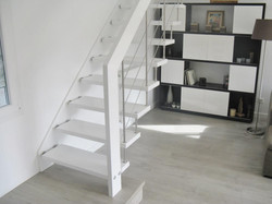 Escalier NOVA R6 BLANC