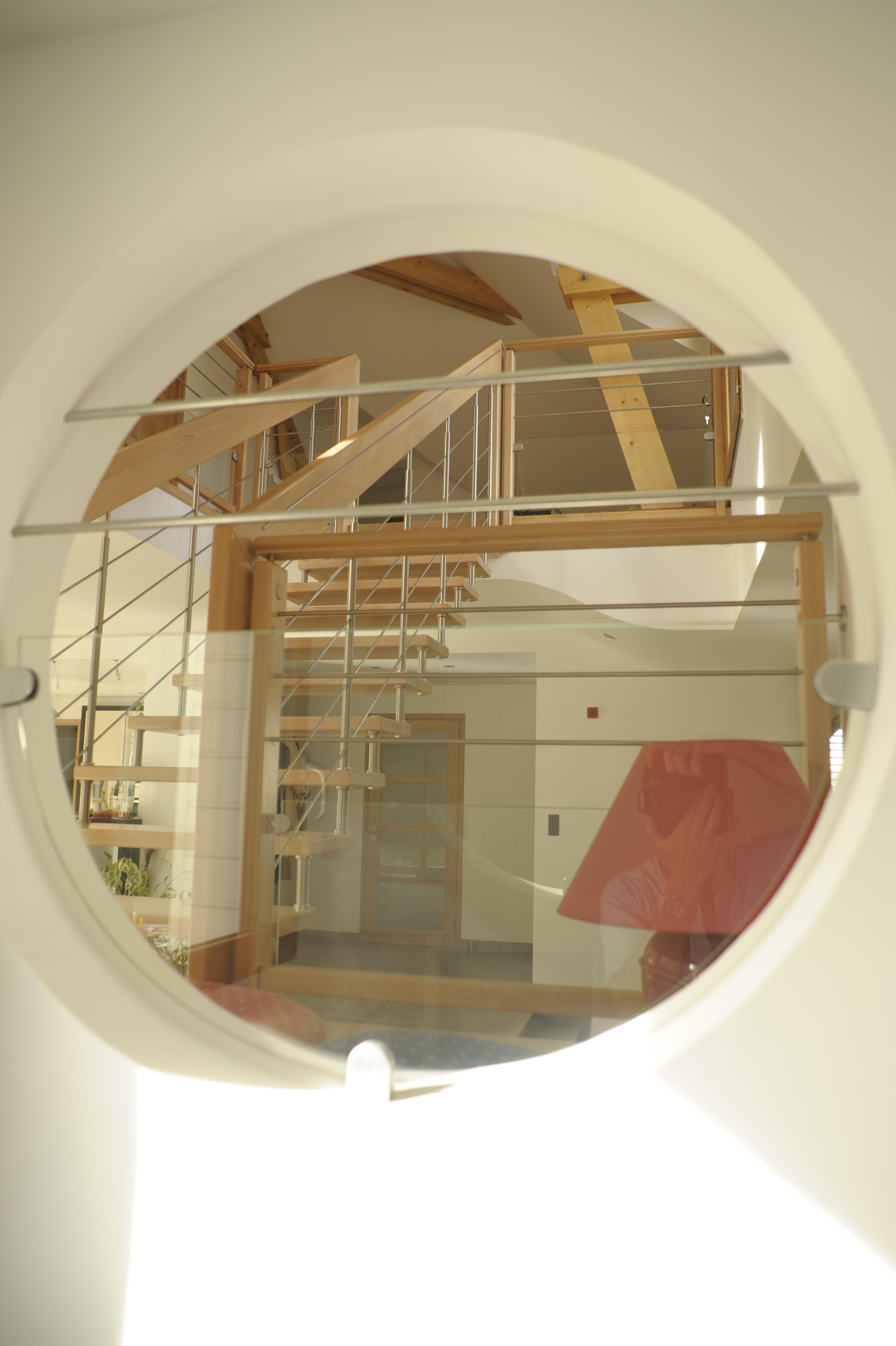 Oeil de boeuf escalier