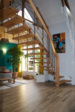 Escalier NOVA Acier