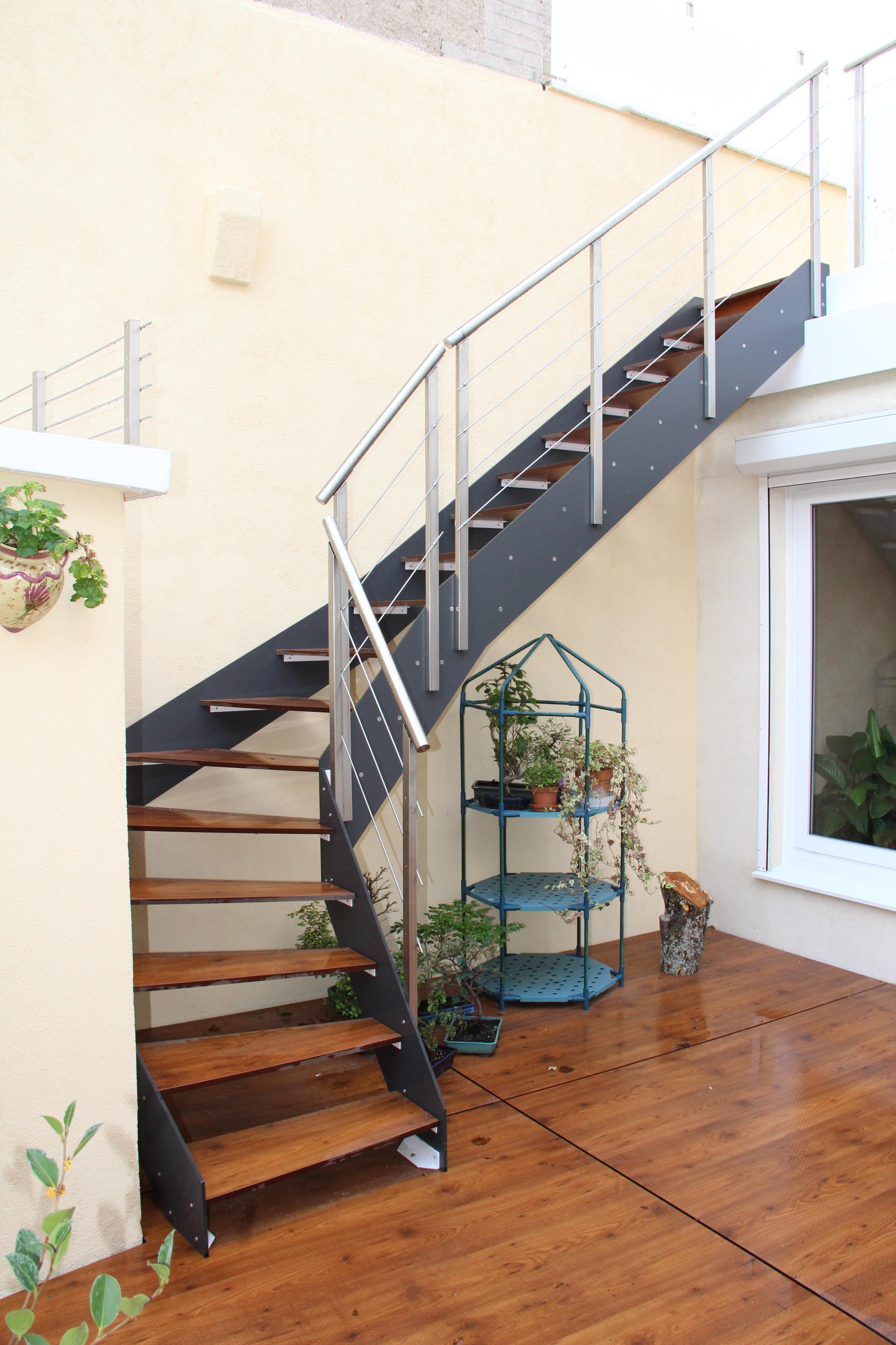 Escalier Loft Extérieur