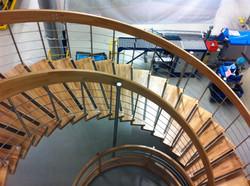 Escalier monumental gamme Nova