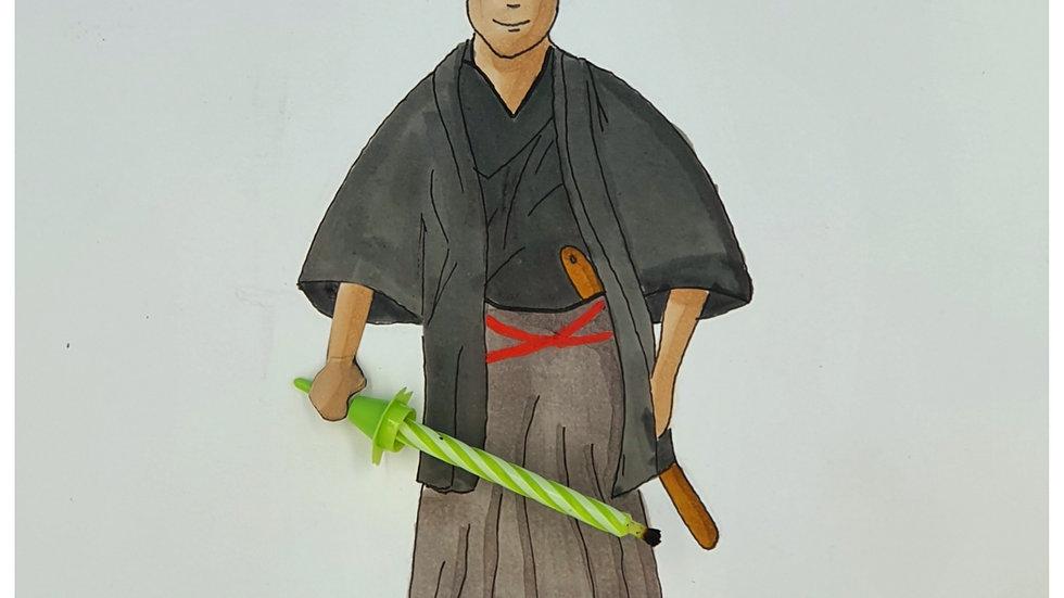 L'anniversaire du Samourai
