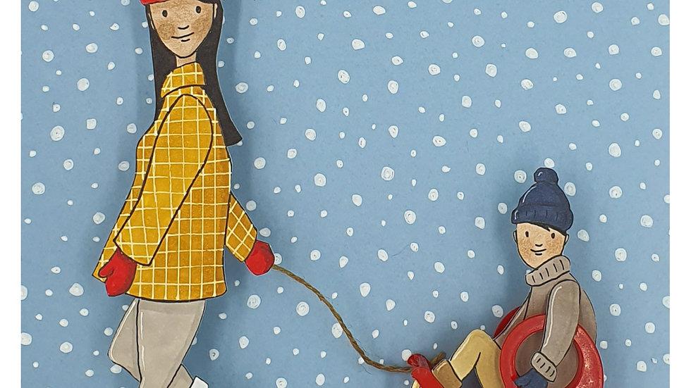 scotchie à la neige