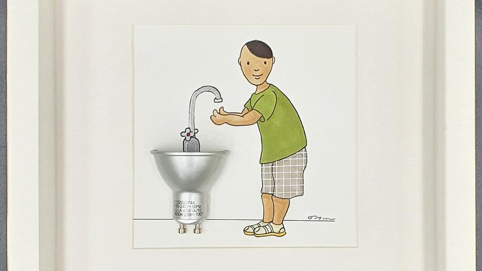 Conseil éclairé : lavez-vous les mains