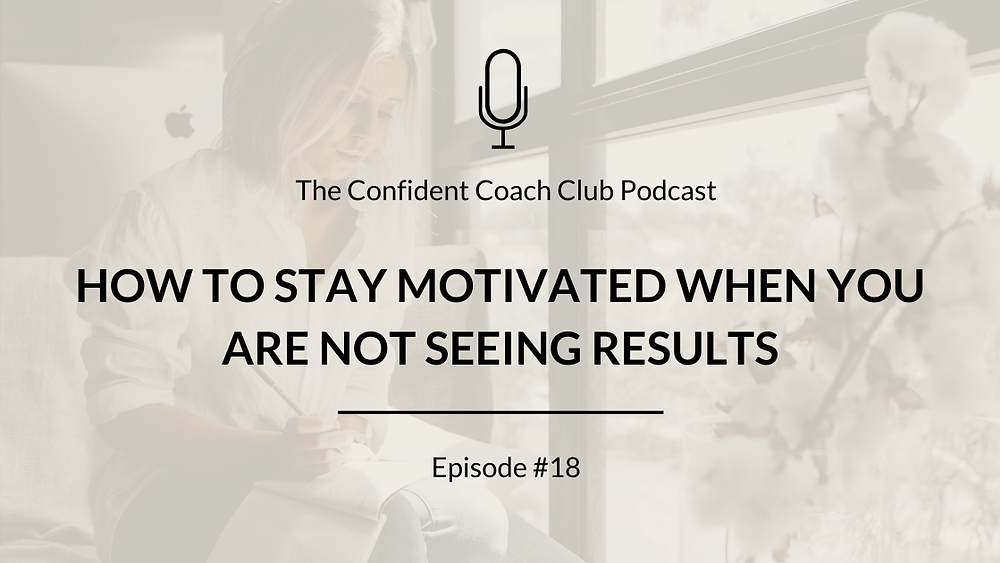 Cover Image Confident Coach Club Podcast Episode 18