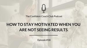 Cover Image Confident Coach Club Podcast Episode 18