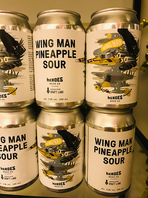 WING MAN PINEAPPLE SOUR