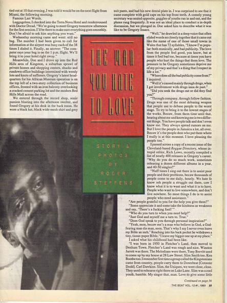 The Beat Vol. 12 / 1993