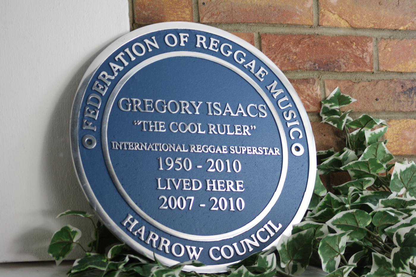 Gregory Isaacs plaque copy.JPG